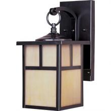 Maxim 85053HOBU - One Light Burnished Honey Glass Wall Lantern