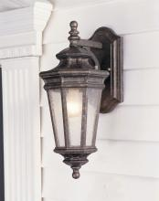 Feiss OL2901PBR - One Light Peruvian Bronze Clear Seeded Glass Wall Lantern