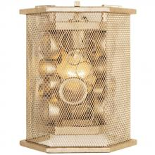 Varaluz 293W01ZG - Fascination 1-Lt Hex Wall Sconce