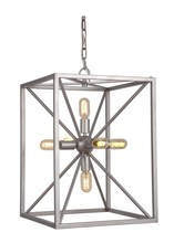 Craftmade P630AO6 - Pendant 6 Light Pendant with Chain in Athenian Obol